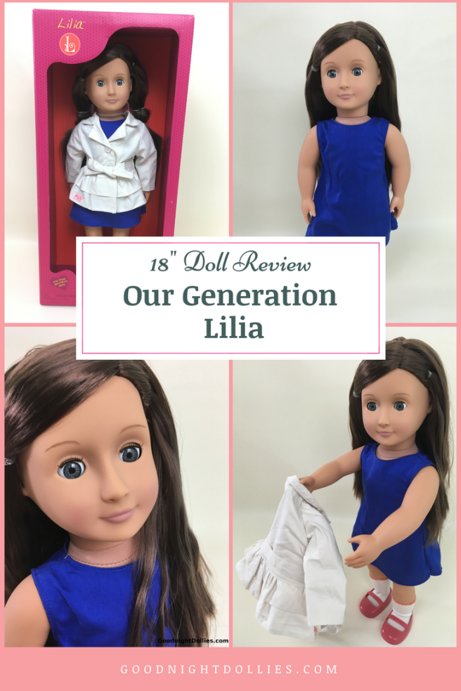 18 Inch Doll Review - Our Generation Lila