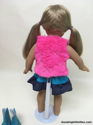 MLA Clothes on AG Dolls - AG in Cowgirl, back