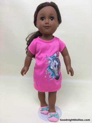 MLA Clothes on AG Dolls - Nightshirt