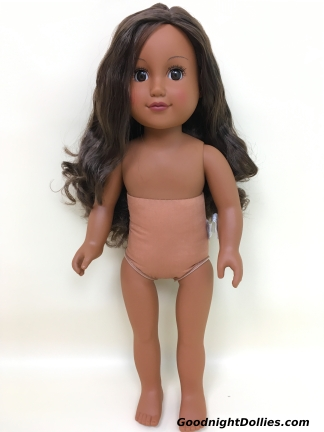 """My Life As Beach Vacationer 18"""" doll, front"""