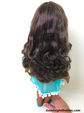 Despite the bothersome packaging, her hair looks AMAZING!