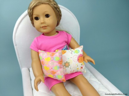Cat Pillows for 18 Inch Doll