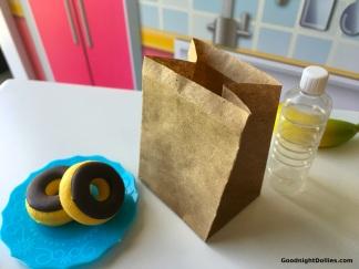 DIY Mini Paper Bag for 18 Inch Dolls Craft 1