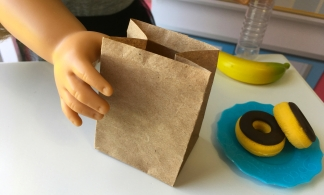 DIY Mini Paper Bag for 18 Inch Dolls Craft 2
