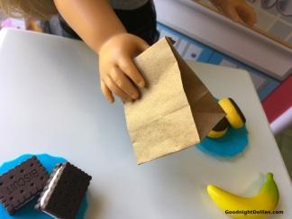 DIY Mini Paper Bag for 18 Inch Dolls Craft 3