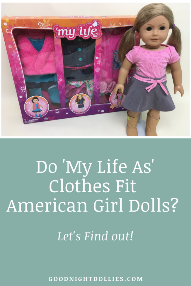 Do My Life As Clothes Fit American Girl Dolls_