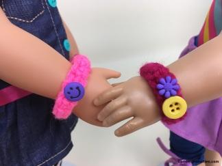 Doll Lover's Guide to Crochet 101 Lesson 3 - Bracelet 3