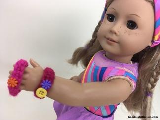 Doll Lover's Guide to Crochet 101 Lesson 3 - Bracelet 5